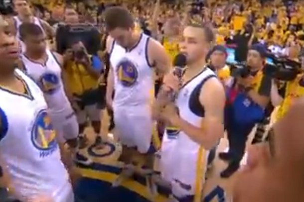 warriors thank fans after playoff elimination