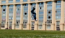 Dude Breaks World Record For Backflips On a Pogo Stick (Video)