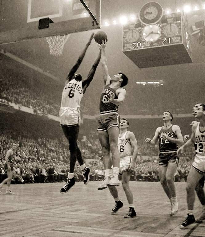 1 1957 nba finals game 7 (celtics hawks)