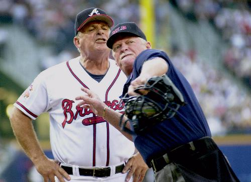 1 Bobby Cox - most ejected mlb managers (manager ejections)