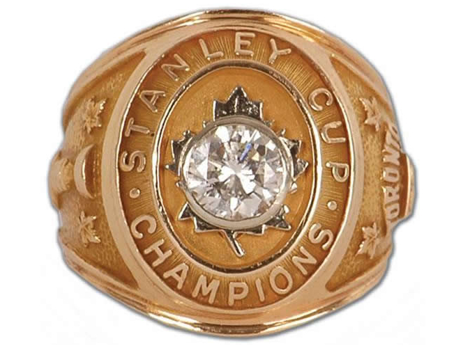 1 Maple Leafs 1967 Stanley Cup Championship Ring Sawchuk - Stolen Championship Rings
