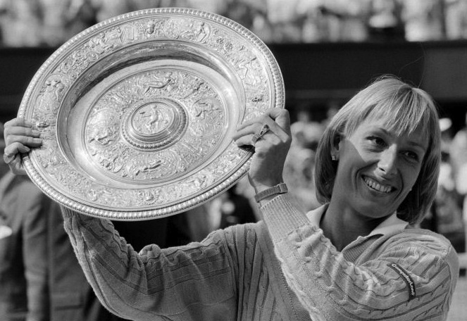1 martina navratilova - greatest wimbledon ladies champions