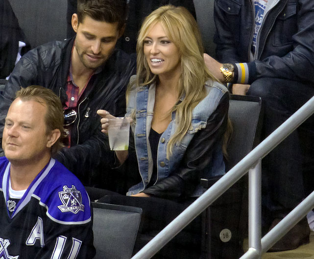 1 paulina gretzky at game 4 western conference finals - celebs at stanley cup playoffs