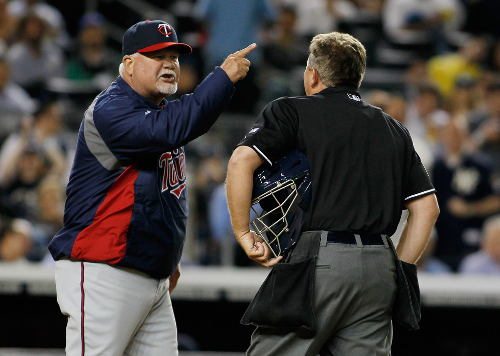 10 ron gardenhire twins - most ejected mlb managers (manager ejections)