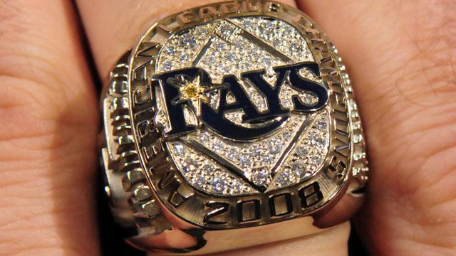 11 Matt Garza Rays 2008 AL Championship Ring - Stolen Championship Rings