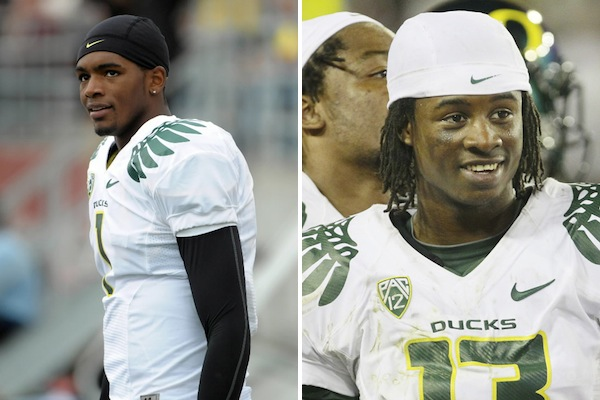 12 Darron Thomas & Cliff Harris - athletes busted for weed pot