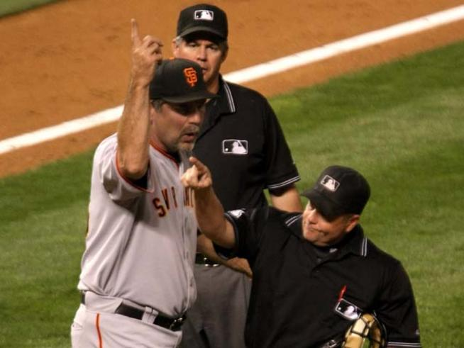 13 Bruce Bochy giants - most ejected mlb managers (manager ejections)