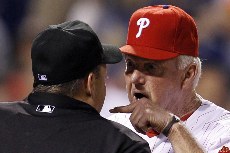 15 Charlie Manuel - most ejected mlb managers (manager ejections)