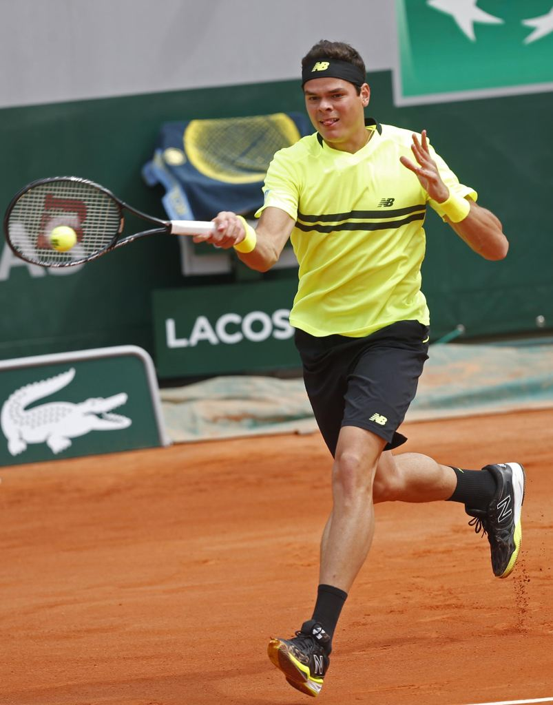 15 milos raonic new balance  - 2013 French Open Fashion