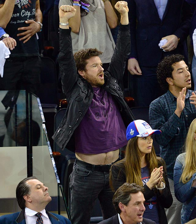 17 jason bateman at eastern conference quarterfinals (rangers) - celebs at stanley cup playoffs