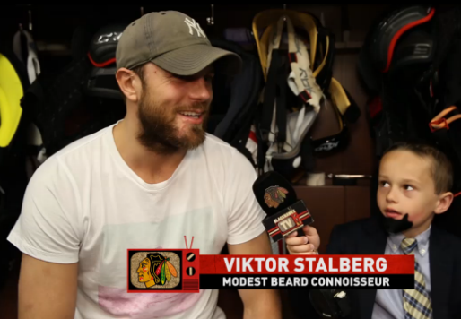 17 viktor stalberg - 2013 NHL Playoff Beards