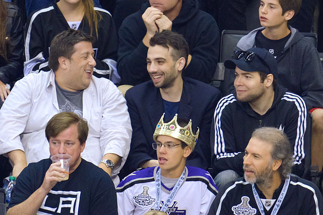 18 jay baruchel at game 4 western conference finals - celebs at stanley cup playoffs