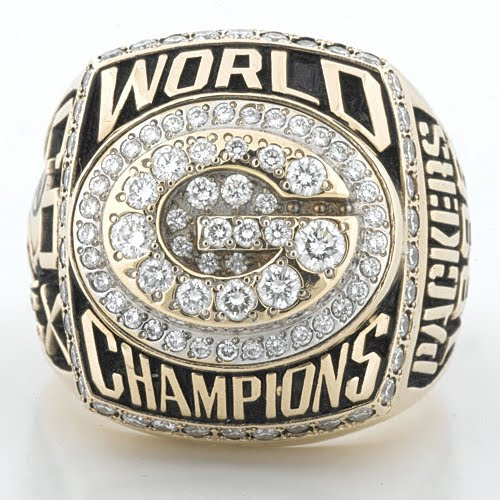 1996 packers super bowl ring - stolen championshp rings