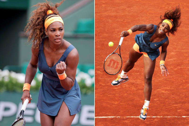 2 Serena Williams - 2013 French Open Fasion