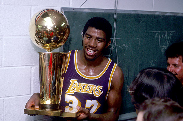 2 magic johnson - players named nba finals mvp more than once