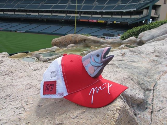 2 mike trout hat promotion - 2013 mlb promotions