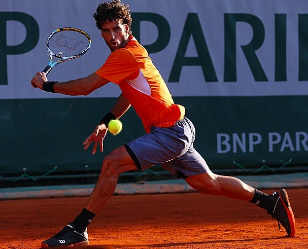 22 Feliciano Lopez wilson - 2013 French Open Fashion