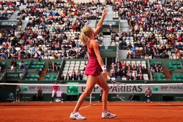 23 agnieszka radwanska lotto  - 2013 French Open Fashion