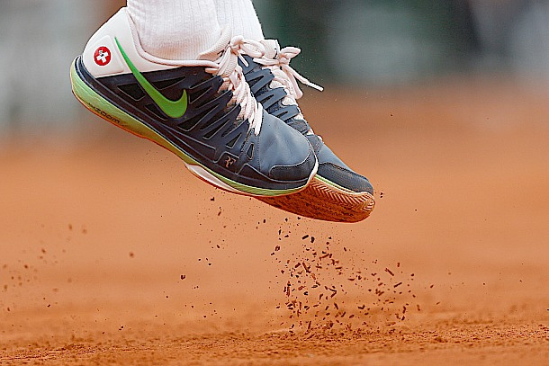 26 Roger Federer nike tennis shoes - 2013 French Open Fashion