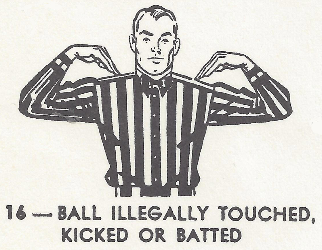 26 illegal touching - dirty sports terms sexual innuendo