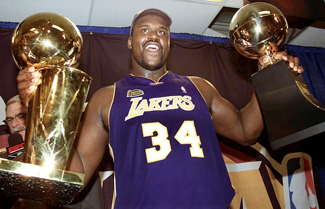 3 shaquille o'neal - players named nba finals mvp more than once