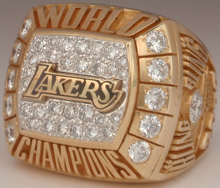 4 Lakers 2000 NBA Championship Ring A.C. Green - Stolen Championship Rings