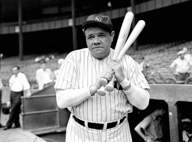 40 swing the lumber babe ruth  - dirty sports terms sexual innuendo