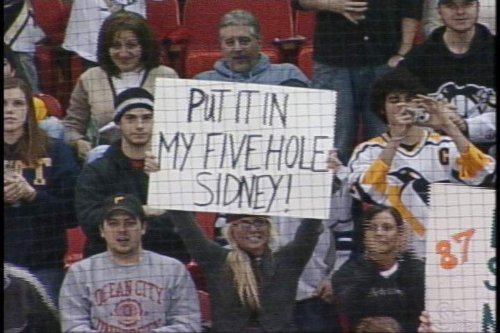 45 hockey fivehole - dirty sports terms sexual innuendo