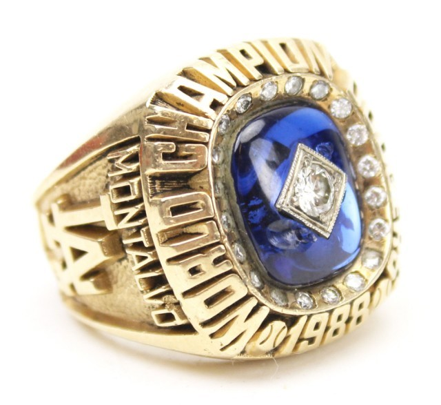 5 Dodgers 1988 World Series Championship Rings - Stolen Championship Rings