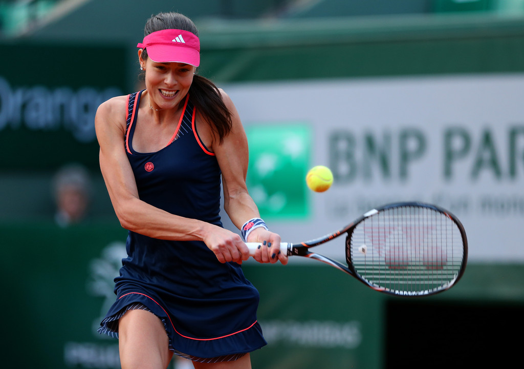 6 ana ivanovic adidas - 2013 French Open Fashion