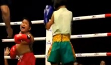 Thailand Is a Magical Place Where Chubby 6-Year-Old Boys Are Forced to Take Muay Thai Beatdowns from Little Girls (Video)