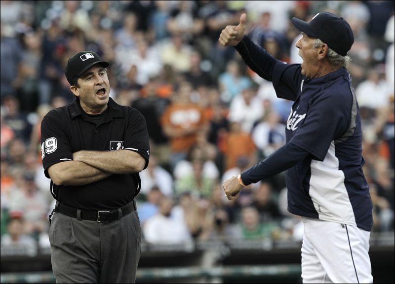 8 jim leyland tigers - most ejected mlb managers (manager ejections)