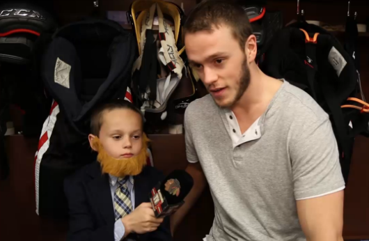 8 jonathan toews - 2013 NHL Playoff Beards