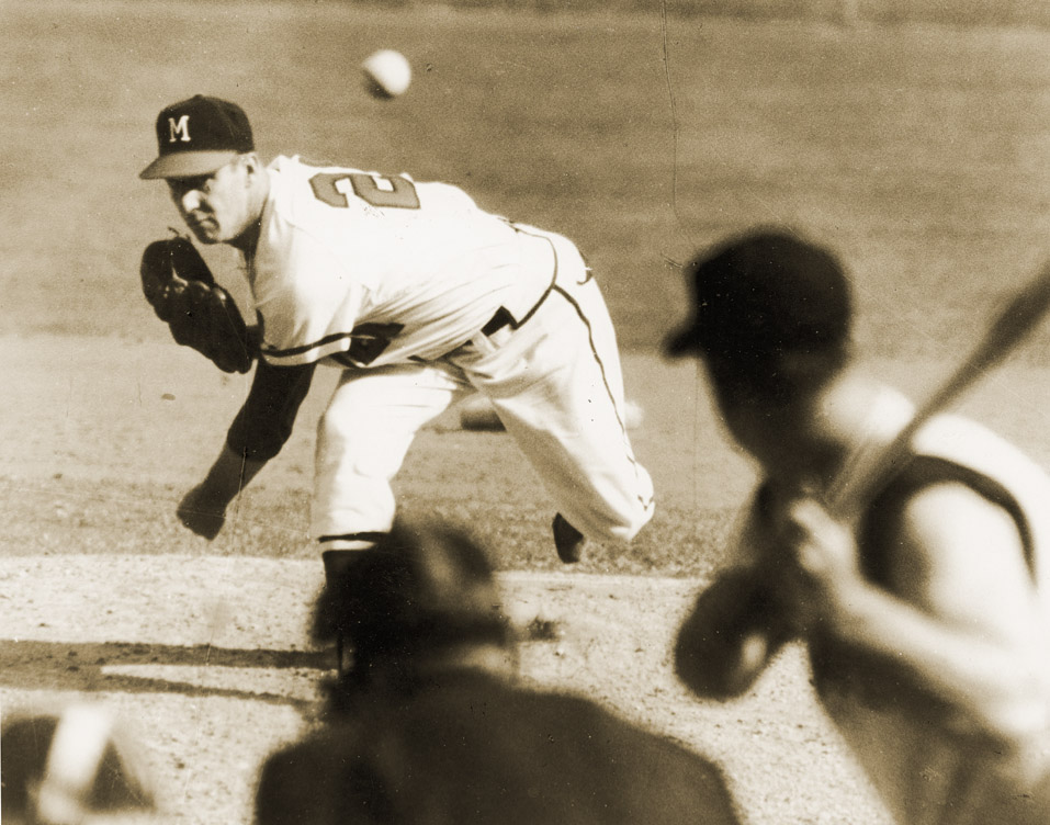 9 warren spahn braves - best pitcher game scores all-time