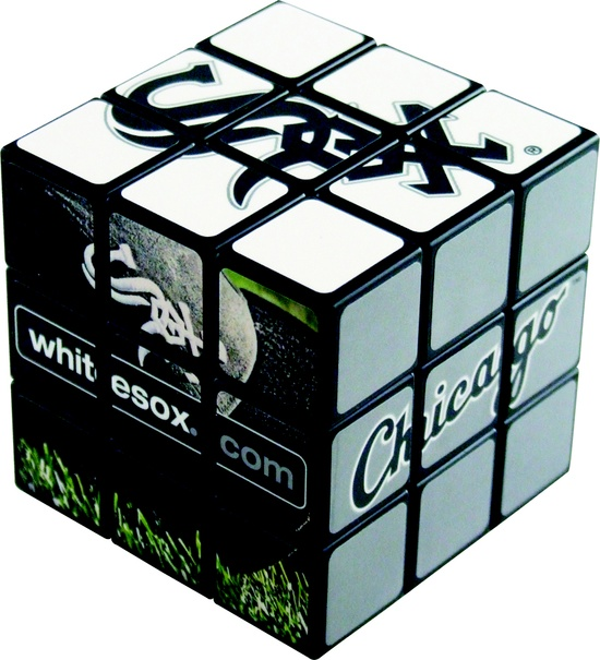 9 white sox puzzle cube - 2013 MLB Promotions