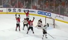 Blackhawks Game 1 Hero Andrew Shaw Drops F-Bomb on National TV After Thrilling Triple Overtime Goal (Video)