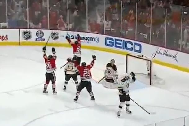 Blackhawks-Bruins Stanley Cup Finals Game 1
