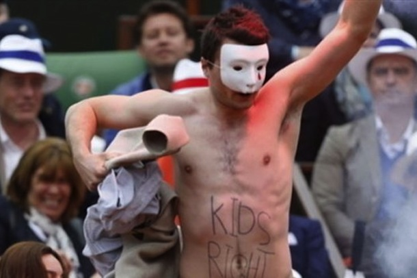 French Open protestors 3