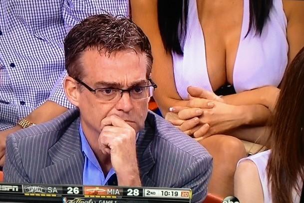 Miami Heat fan boobs
