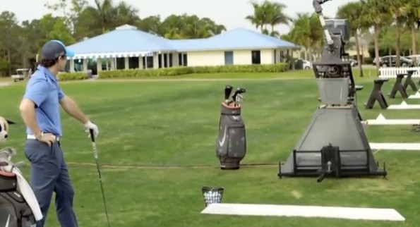Rory McIlroy vs the robot