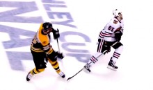 Andrew Shaw Took a Puck To The Face Before Winning the Stanley Cup (Video)
