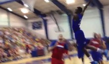 Andrew Wiggins' First Practice In Front of the Kansas Jayhawks Basketball Fans Went Well (Videos)