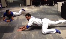 This Vine of Jose Bautista and Munenori Kawasaki Stretching Is Glorious (Video)