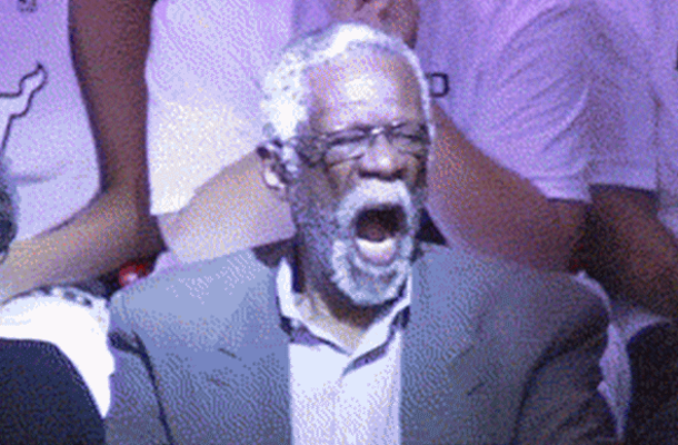 bill russell yawn game 7