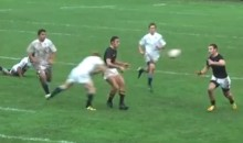 Check Out This Bone-Crushing Hit from a High School Rugby Game in New Zealand (Video + GIF)