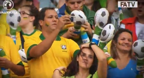 brazil soccer fan bad dancer