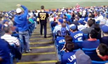 Bruins Fan Receives Rude Welcoming at Rogers Centre During Jays Game (Video)