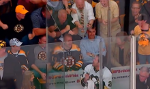 Bruins Fans Harass Penguins Forward Matt Cooke in the Penalty Box (Video)