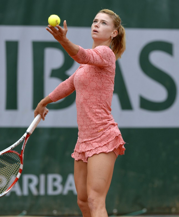 camilla gorgi awful dress - 2013 French Open Fashion