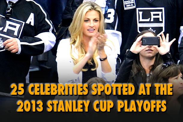 celebrities at 2013 nhl playoffs